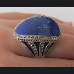 Bague argent lapis lazuli