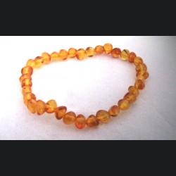 bracelet bébé ambre miel