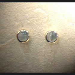 Boucle d'oreille pierre de lune