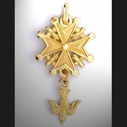 Croix protestante or