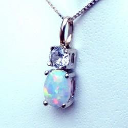 Pendentif opale de chine