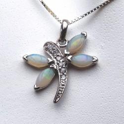 Pendentif opale naturelle d'Australie