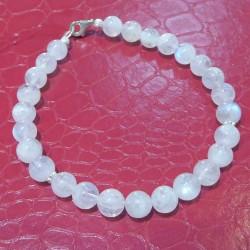 Bracelet Pierre de lune et argent