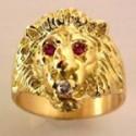 Chevalière or et argent avec initiales