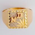 Chevalières homme en Or avec initiales or